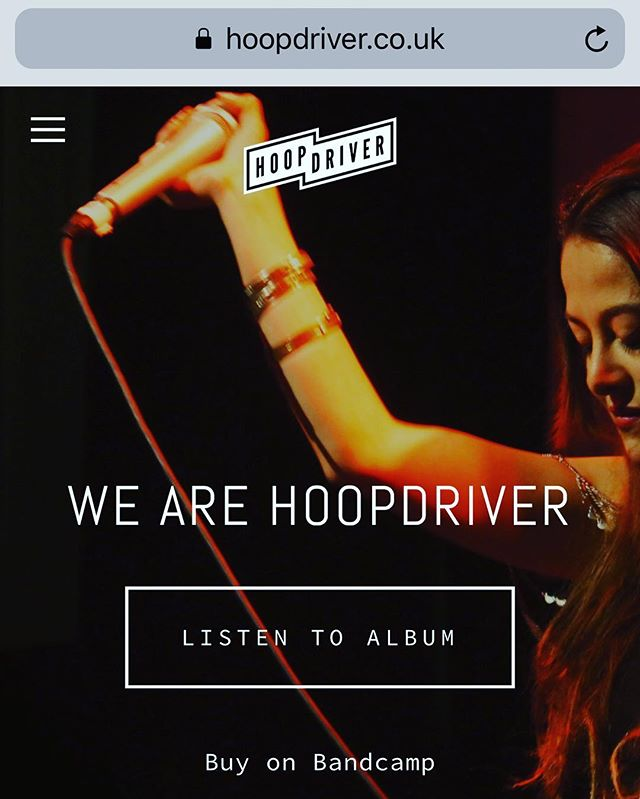 Our new website is now LIVE ✨ #hoopdriver