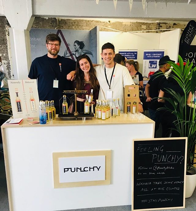 Today is a very special day at PUNCHY HQ, it's our (1st) birthday🎂 . Pic 1 is our launch day at @balance_festival last year featuring our first ever customer @andreabaliarda 🥇 . Since then we've been stocked in some in some of the best retailers, bars, and independents across London 🙌🏼 . We've launched On-Tap and even released Tequila punch🚀 . Thanks to our customers, stockists, colleagues, friends, and family for believing in us . We can't wait to see what the future holds, and hope to see you this summer, punch in hand!☀️
