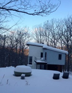 mountain house snow small