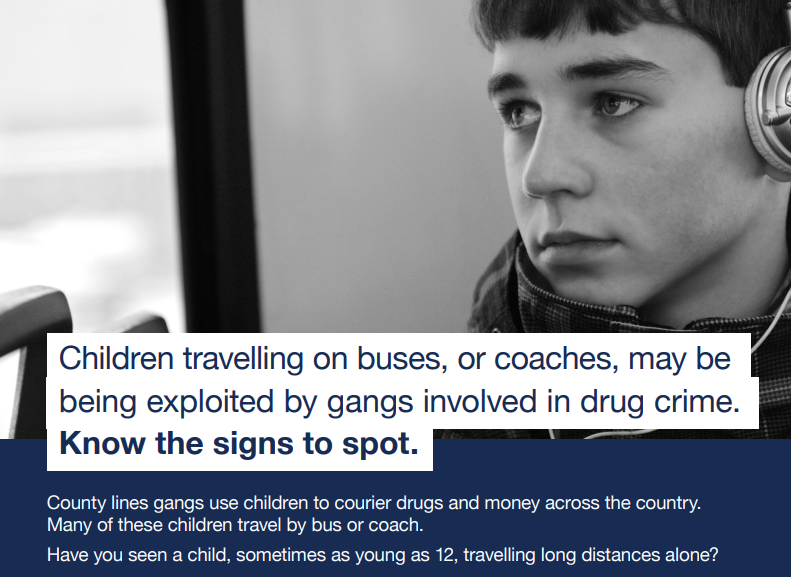 County lines - signs to spot bus and coach companies