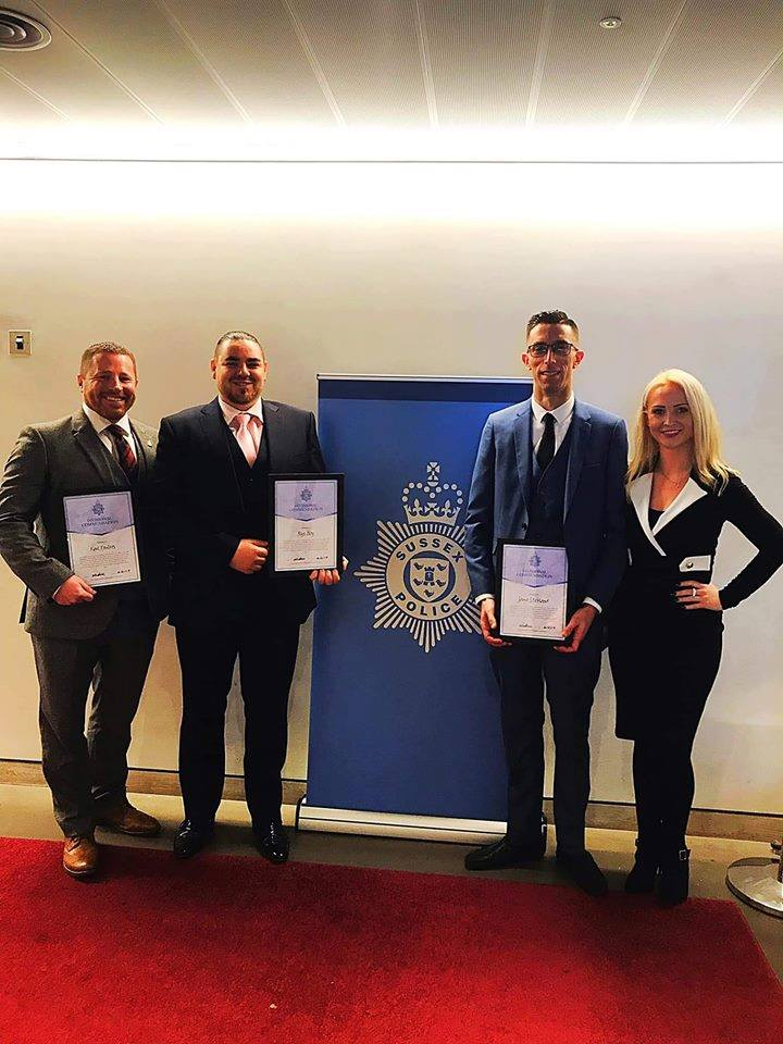 Sussex Business Wardens divisional award 2019.jpg