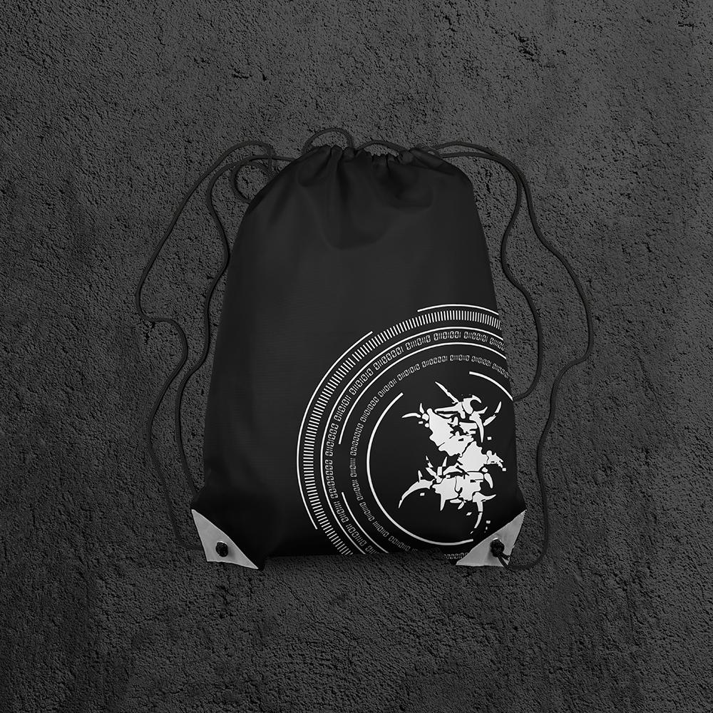 Branded gym bag