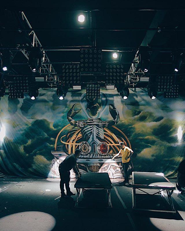 🇧🇷 Hoje a partir das 20h! Sepultura com a tour do Machine Messiah na @audio em SP. #sepultura #machinemessiah