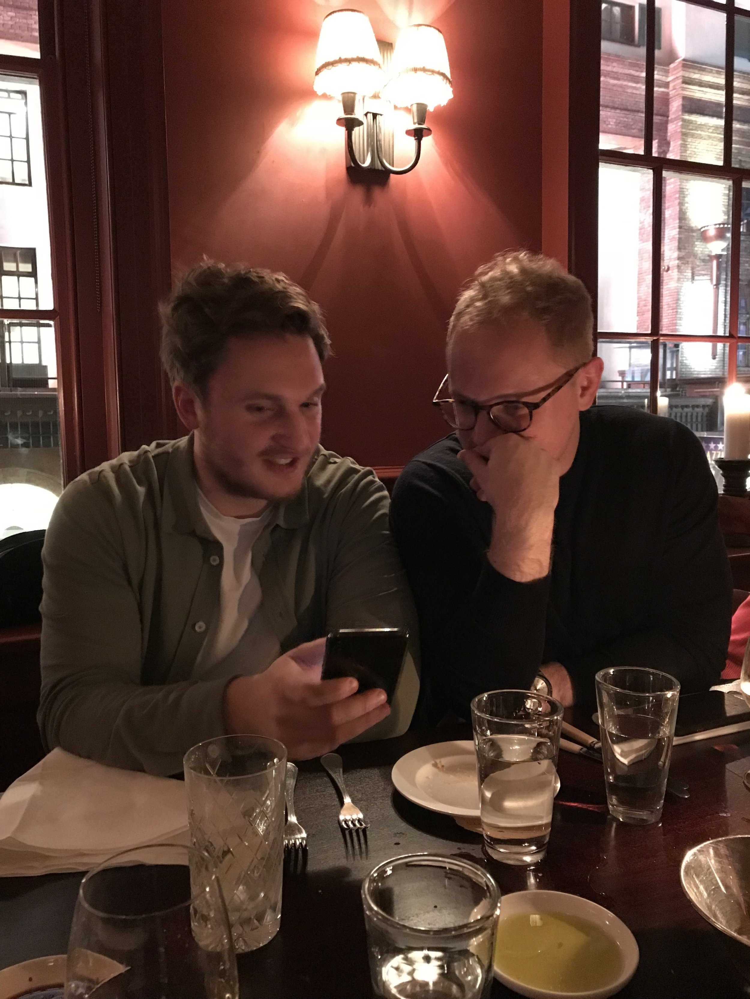 Joe & Tom
