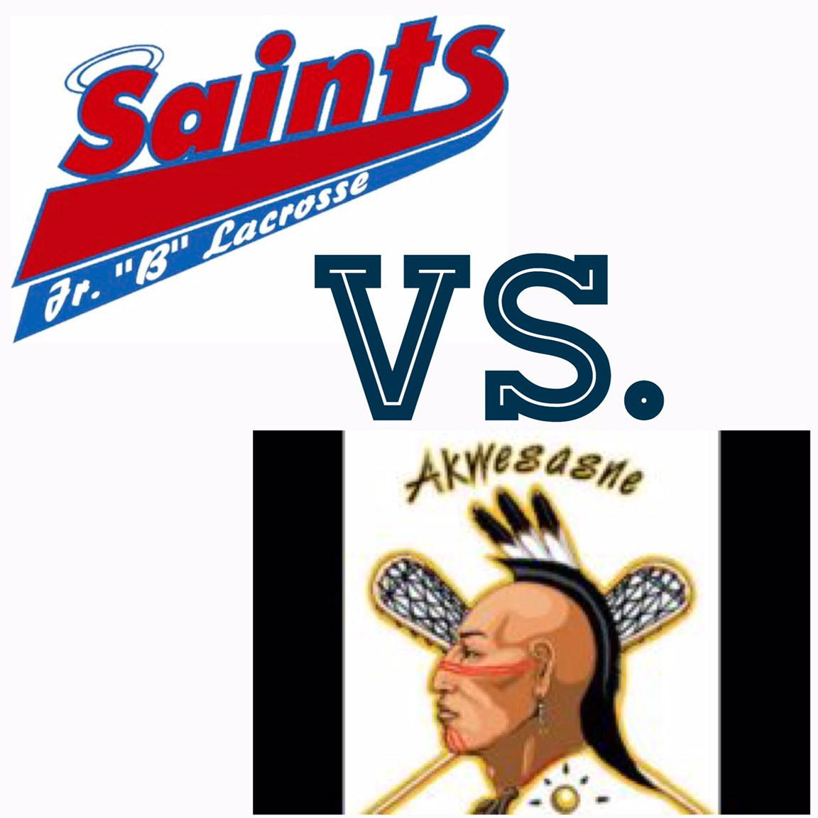 Saints Vs Akwesasne Logos.jpeg