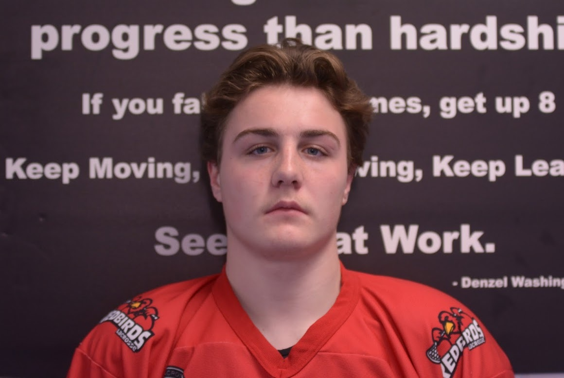 """#11 - Josh Connors     Position : Offence  Born : October 16, 2001  Height : 5'11""""  Weight : 205 lbs."""