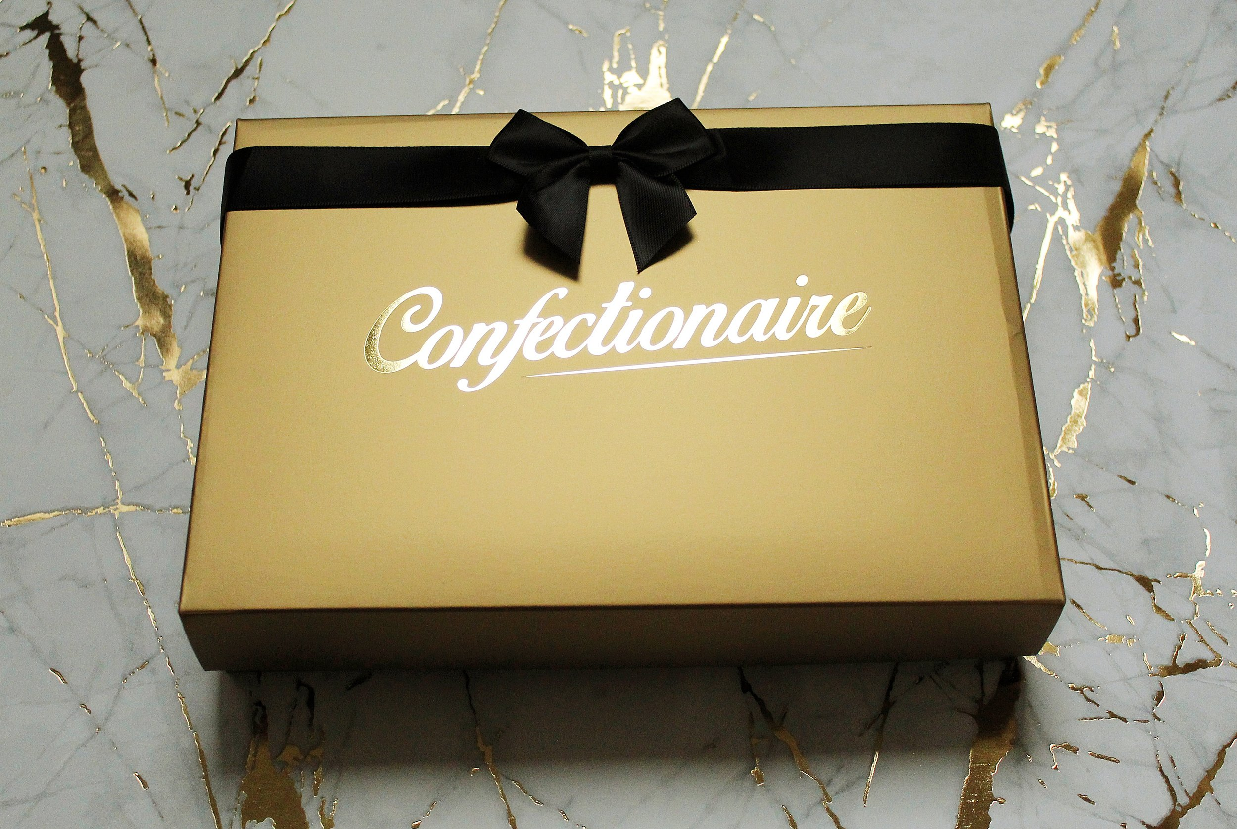Going for gold? Be sure to impress with our luxurious gold boxes…make somebody feel like a confectionery millionaire!