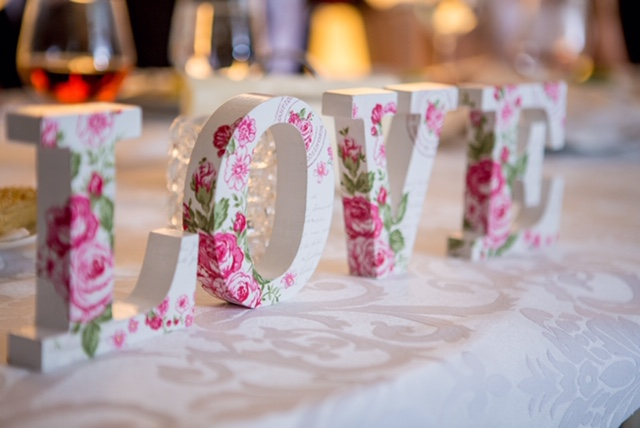 Love is in the air when our chocolates are at any wedding celebration!