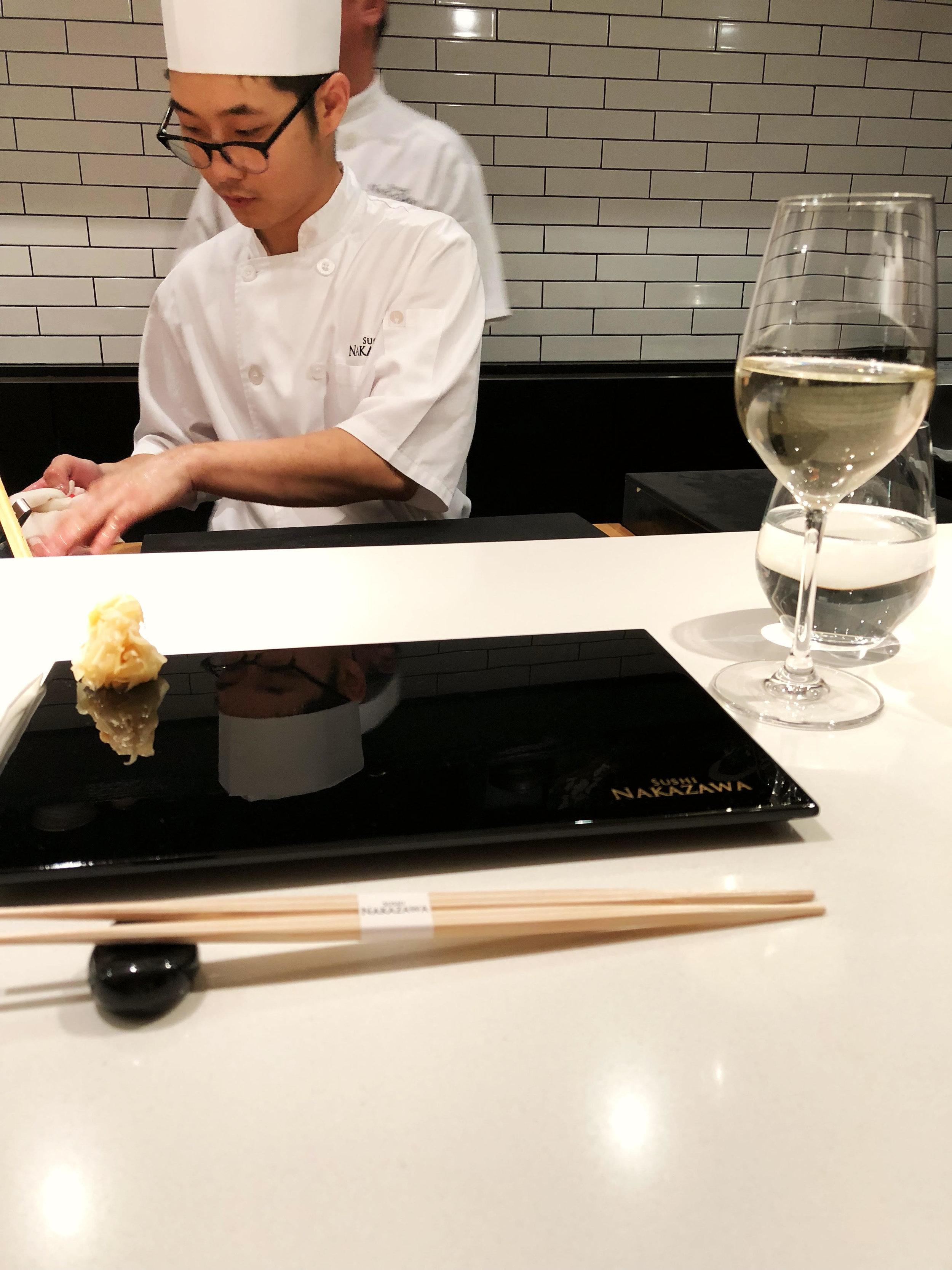 Bytorib Sushi Nakazawa, Sushi Nakazawa Dining Room Vs Bar