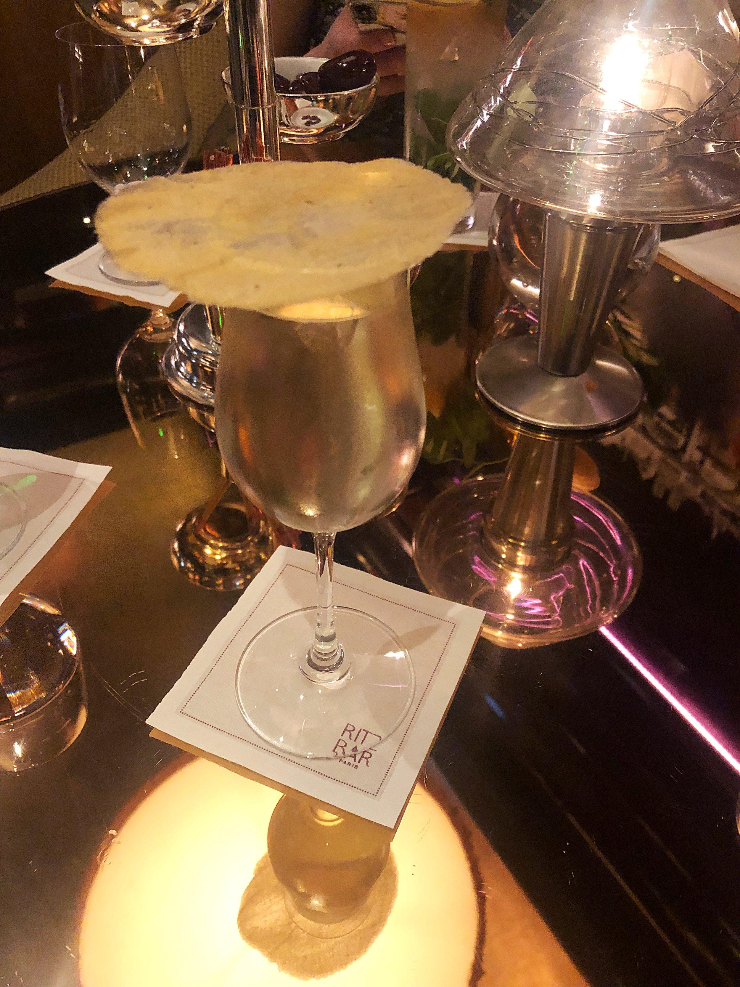 A 28 euro Gimlet at the Ritz