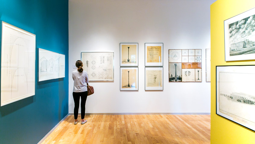Education by Design Exhibition   Early Drawings of O'Neil Ford and Partners - Neidorff Gallery - 2015  Exhibition curator of a previously unknown trove of early drawings by famed San Antonio architect O'Neil Ford and his firm's early partners.