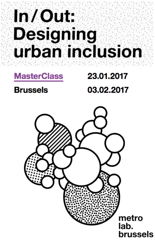 !Drohme Park: Inclusion and Partnership   metroLab Brussels MasterClass Publication - 2017  Published proposal for an alternative public-private-partnership model for the design, programming, and management of a contested former hippodrome park in Brussels.
