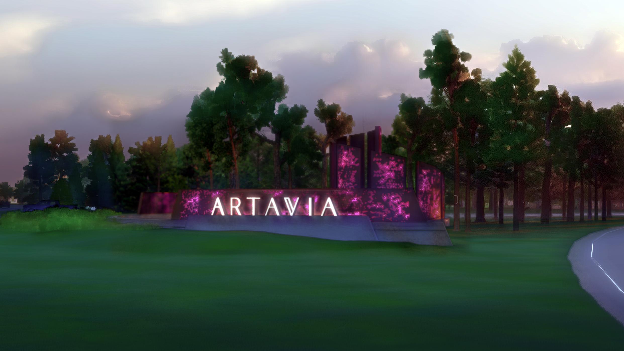 Artavia Entry Primary Entrance Monumentation  TBG Partners - Conroe, TX  Design team member on entry monument for Artavia community.
