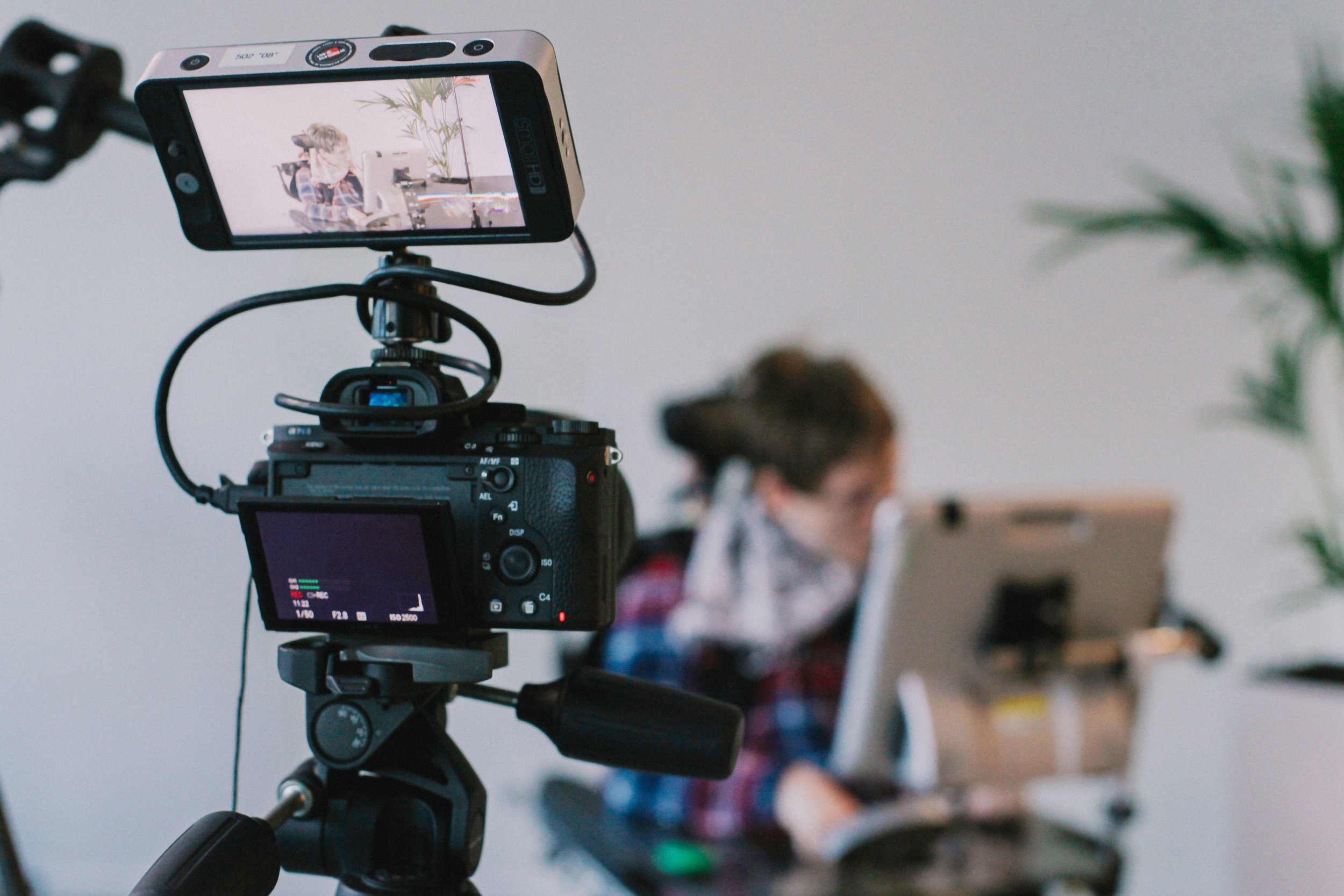 You will need some equipment to make videos. But don't let the idea of perfection stop you from getting started. People can recognize quality information even if the execution isn't glossy. Image by  Vanilla Bear Films  on  Unsplash .