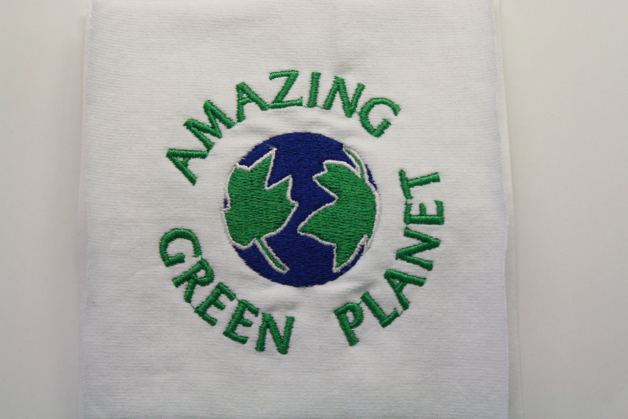 Design for client Amazing Green Planet's logo.