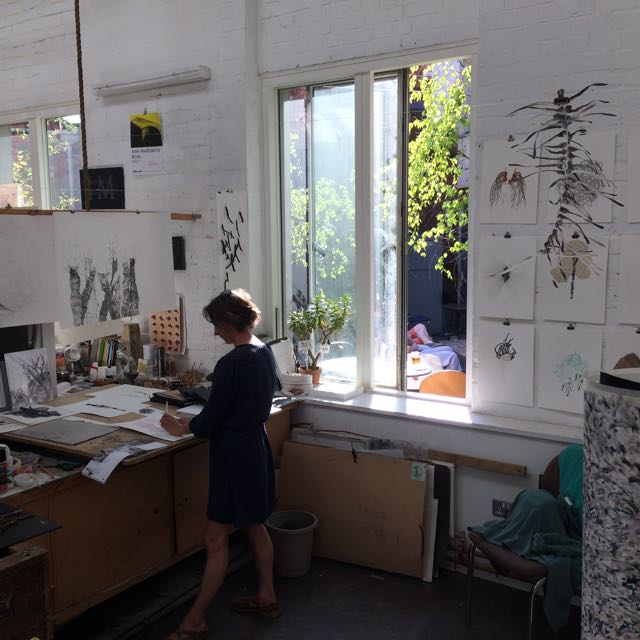 Alison Cockcroft @ SVA sculpture studio