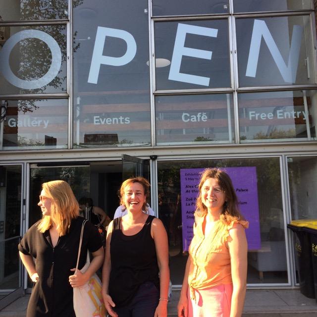Anna Reerd, Valerie Van Leersum and Jo Leahy @ Spike Island, Bristol