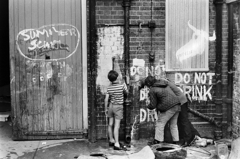 Summer school in Bethnal Green, 1971.