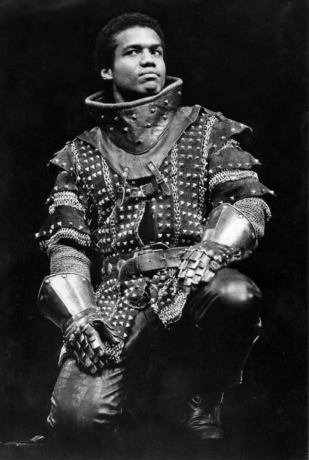 Hugh Quarshie as Hotspur at the R.S.C. in 1982