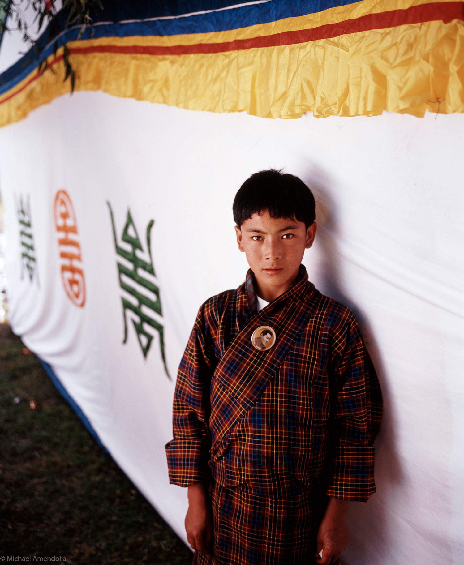 Ceremony for the current King of Bhutan