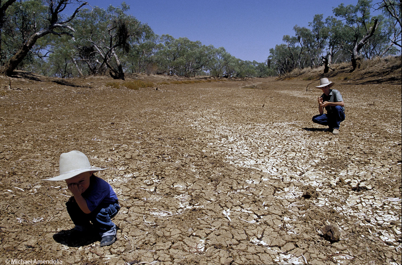 Drought Winton Queensland.