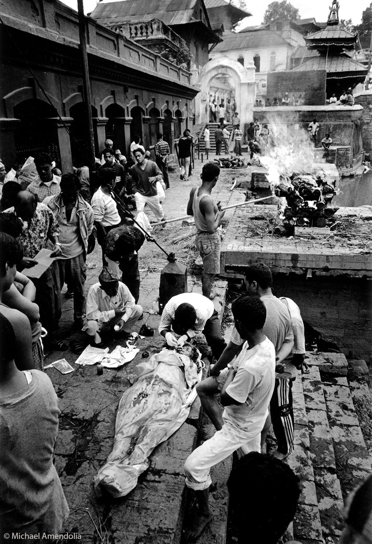 Corneal donation and transplantation Kathmandu 2001