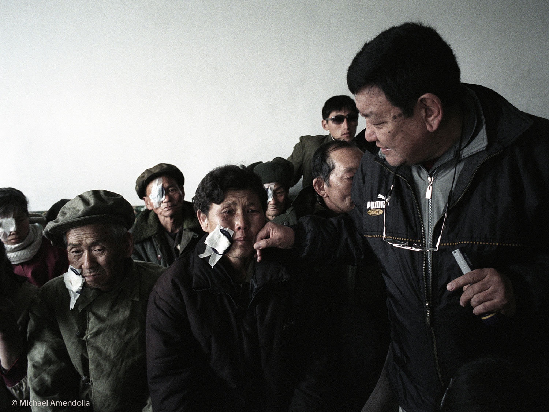 Nepalese Dr Sanduk Ruit North Korea