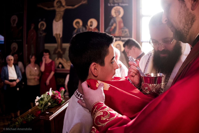 Serbian Orthodox Liturgy Ceremony