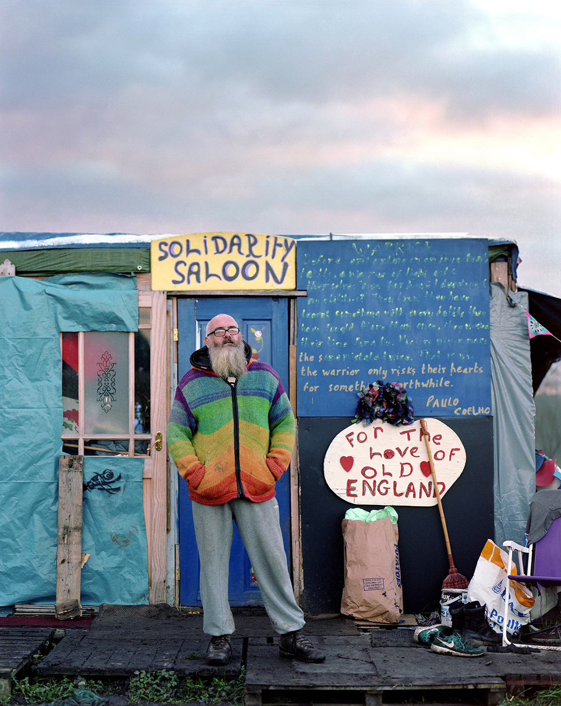 Anti Fracking Movement at Kirby Misperton, North Yorkshire.