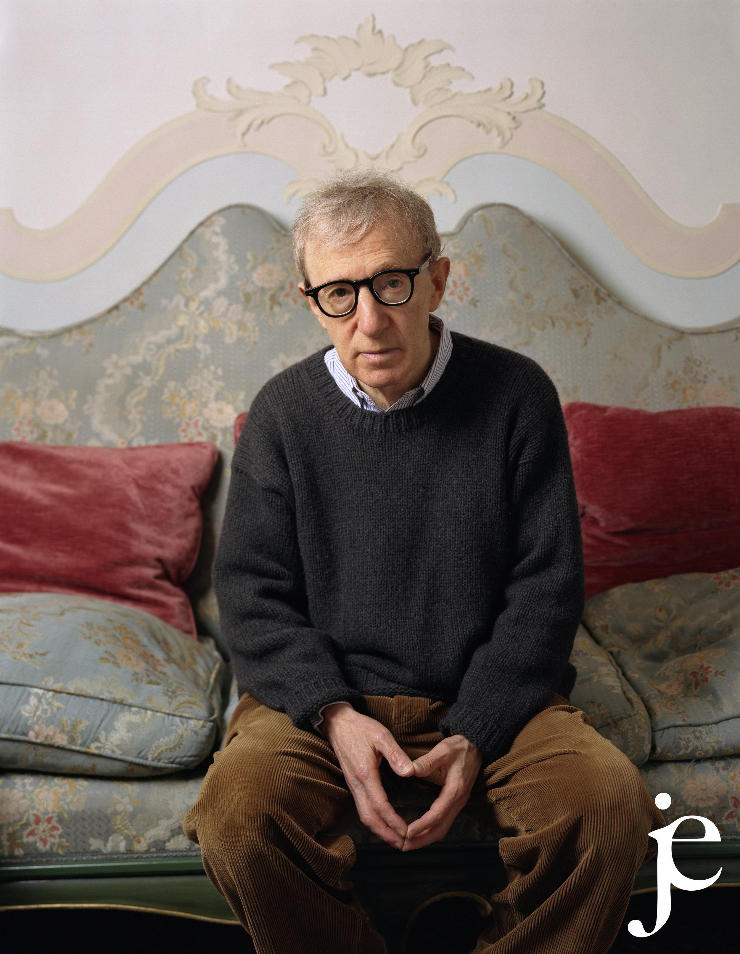 Film director Woody Allen, 2004