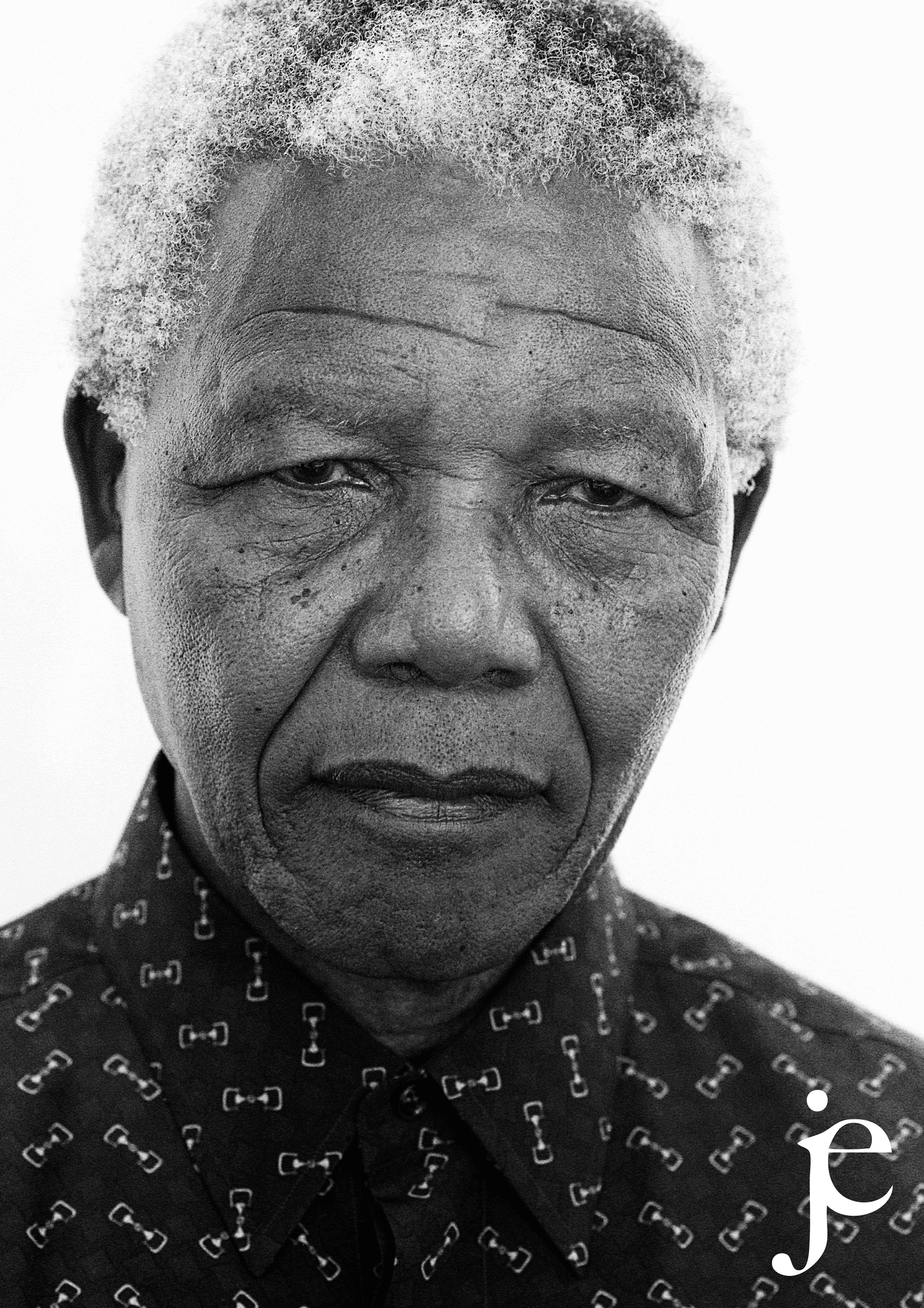 Nelson Mandela Portrait, 1997