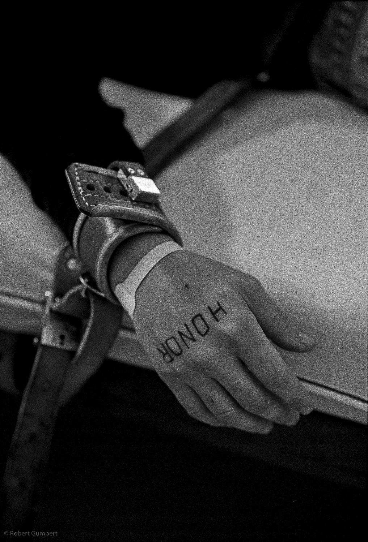 2002: San Leandro, CA Alameda County. USA.  JThe public hospital John George Psych Emergency Services.