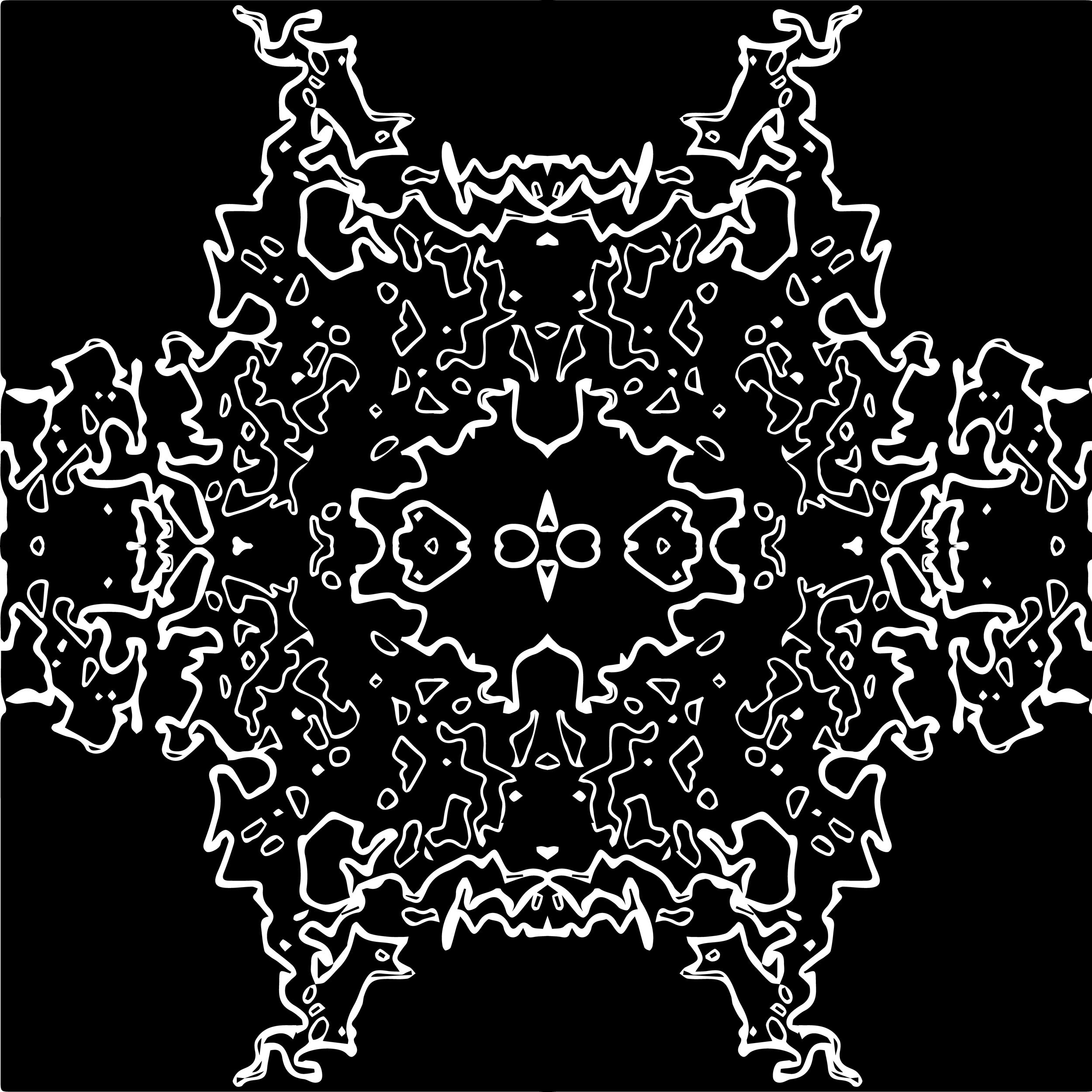 radial, 2017  digital illustration