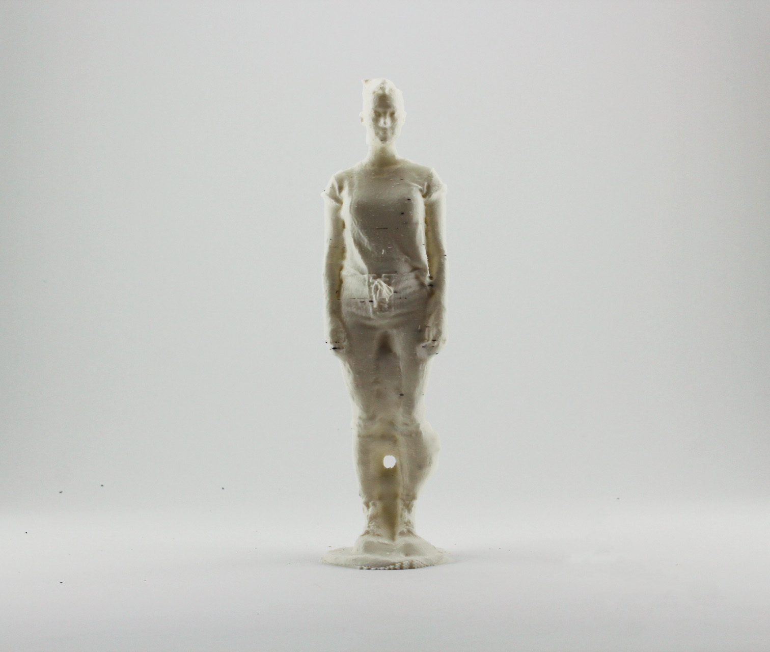 blank, 2019  digital composite 3D printed with PLA filament