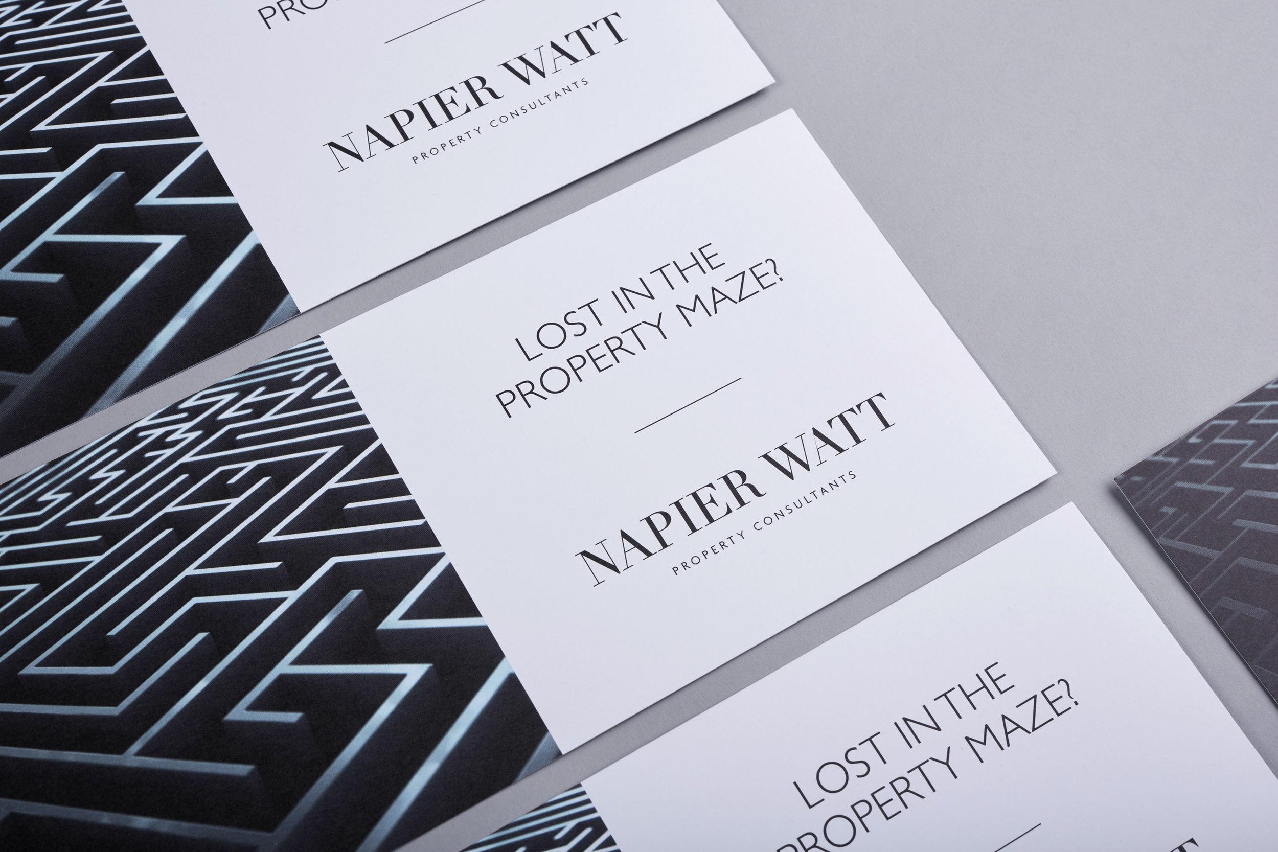 Splendid Design Napier Watt Business Cards.jpg