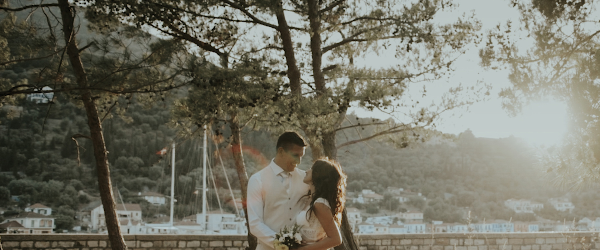 Our summer wedding in Ithaca was magic!We are watching over and over again our video that he made just for us!He captured in a unique way the most important moments of our wedding.The beauty of the island, the good vibes of all our guests, all the emotions, all the happiness…There is not even one of our guests that didn't get emotional while watching our wedding video and this is the greatest sign of how amazing his work is! - christie & DAVID