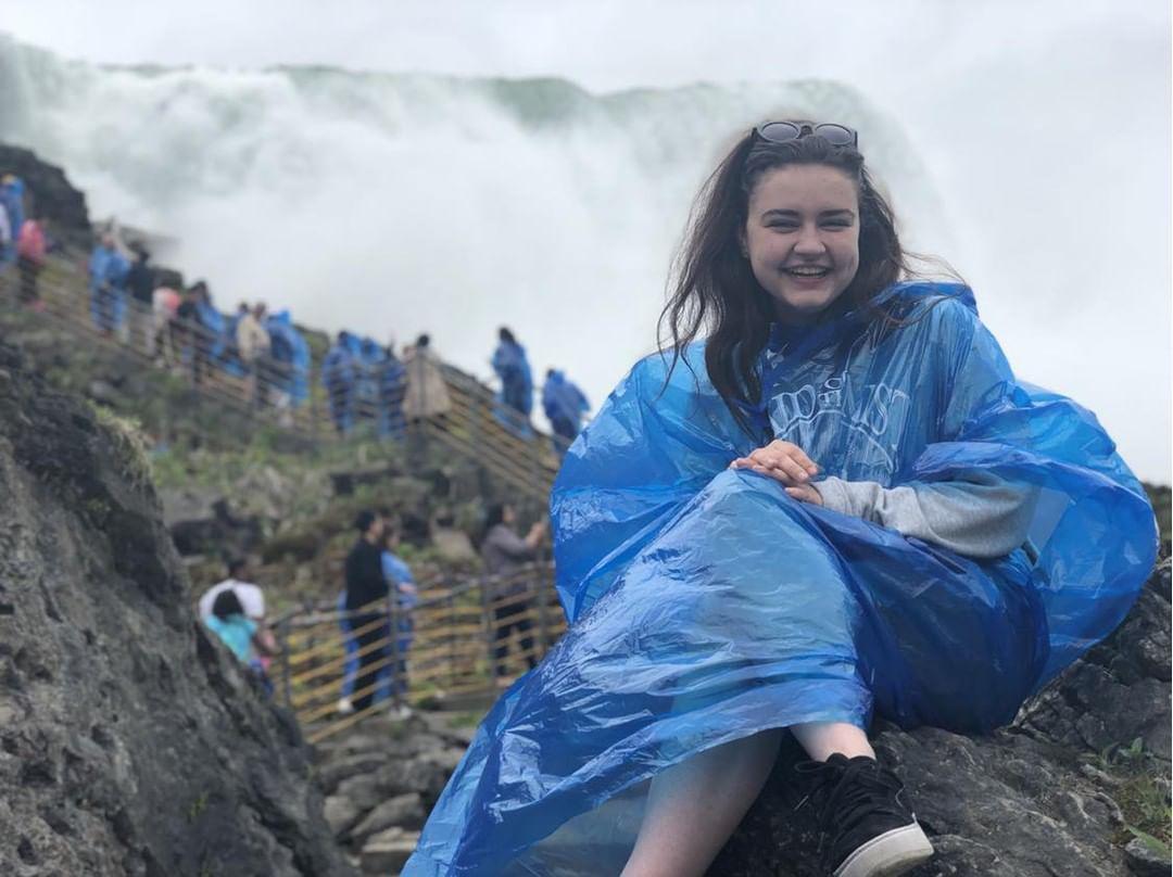 Allana at Niagara Falls