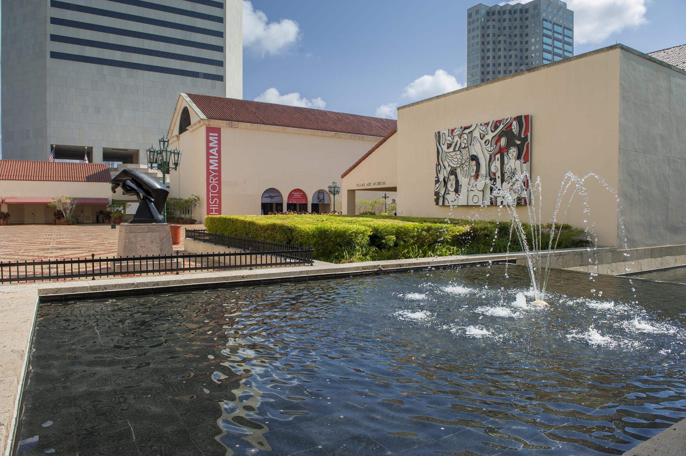 HistoryMiami Museum courtyard fountain.jpg