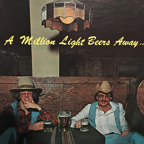 A Million Light Beers Away - Numero Uno - The show where I decided to slam my truck into a concrete light pole, wait 3 hours for a tow truck, then hit the station to control my very first solo-show mostly out-of-it and dazed. I tried to play Terry Allen, but will have to get to that next week. There's time, Terry. There's time. Zero actual beers, but a million light beers away.Listen HERE