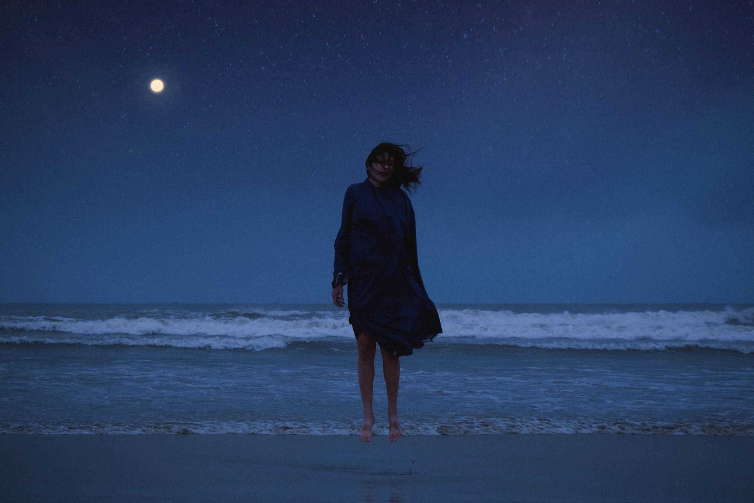 Da nang beach at night