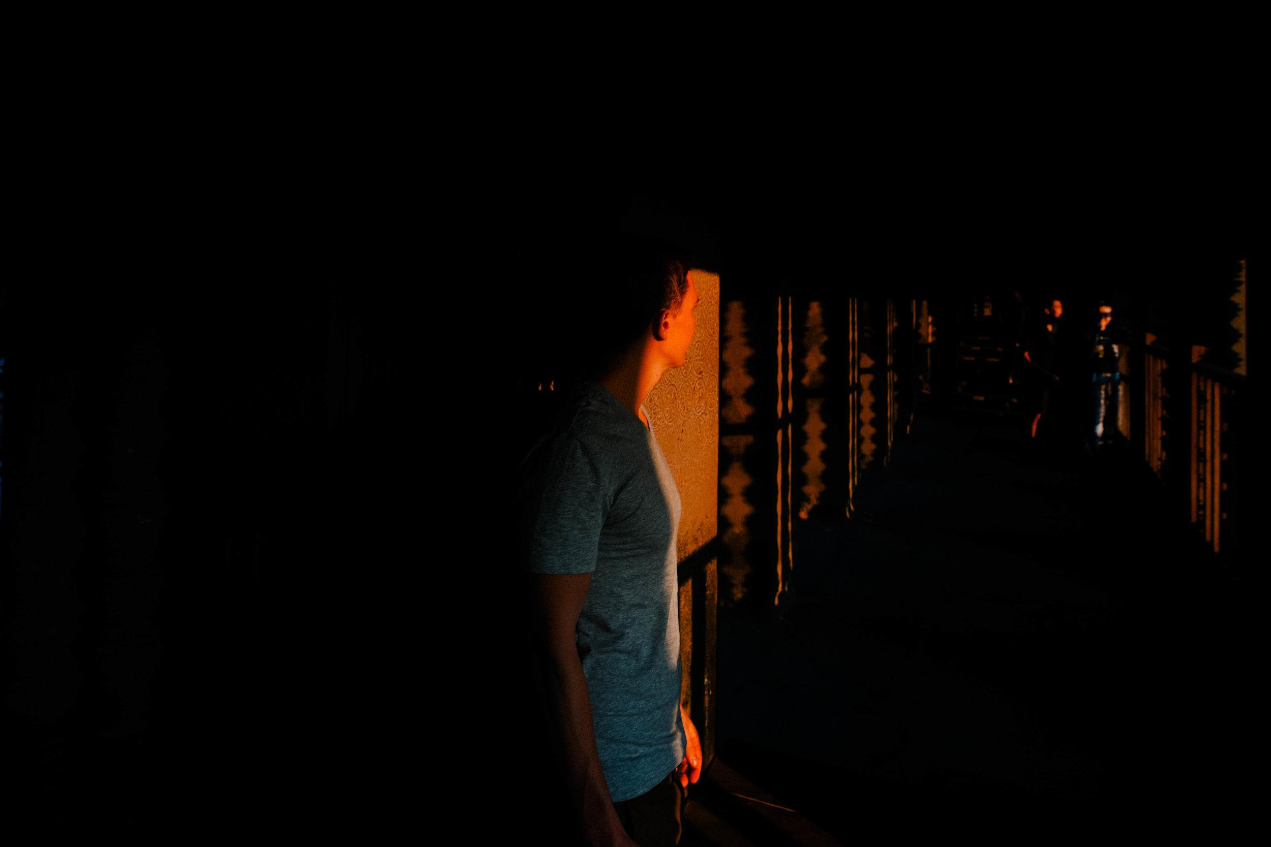lights in angkor