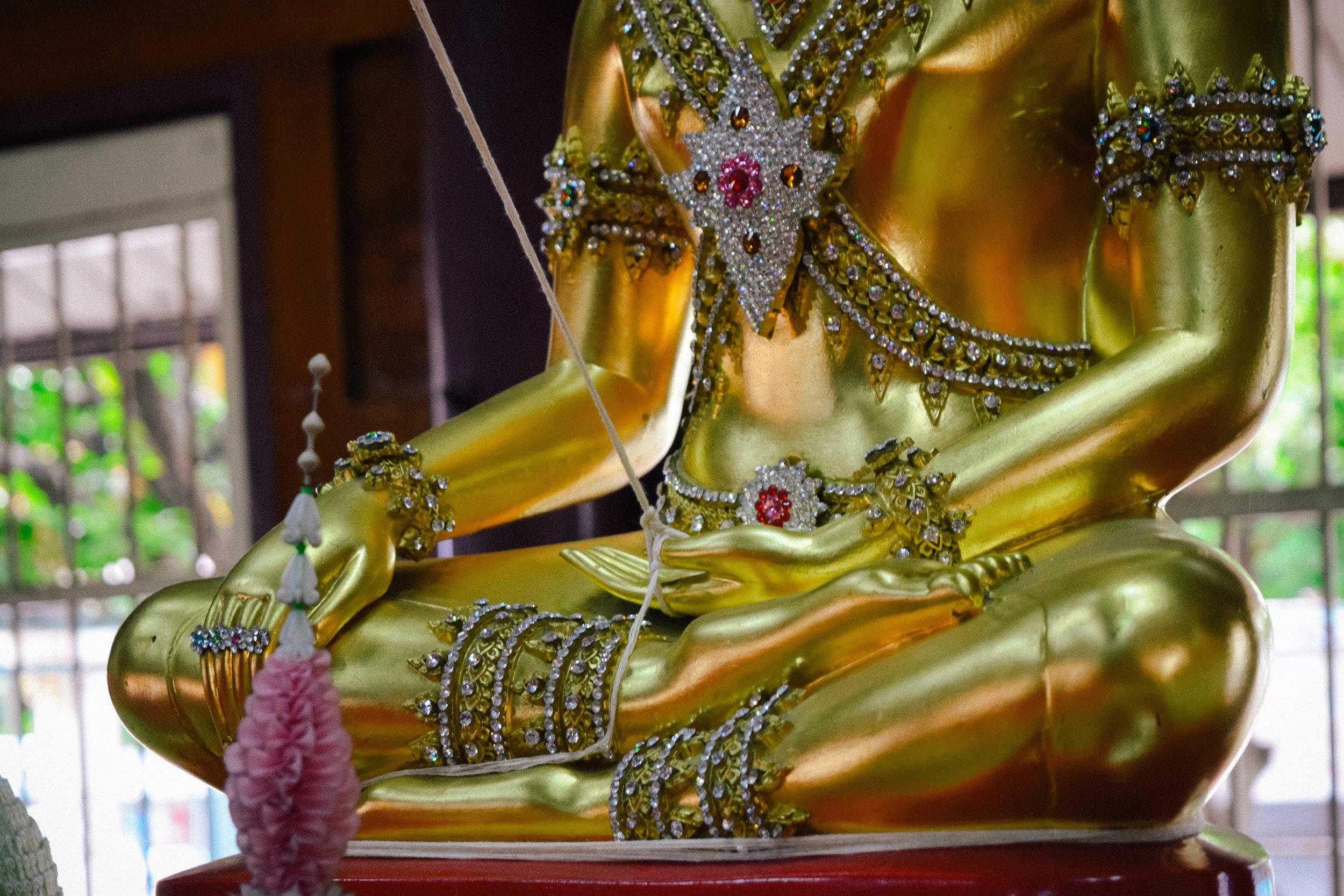 lucky buddha string Bangkok