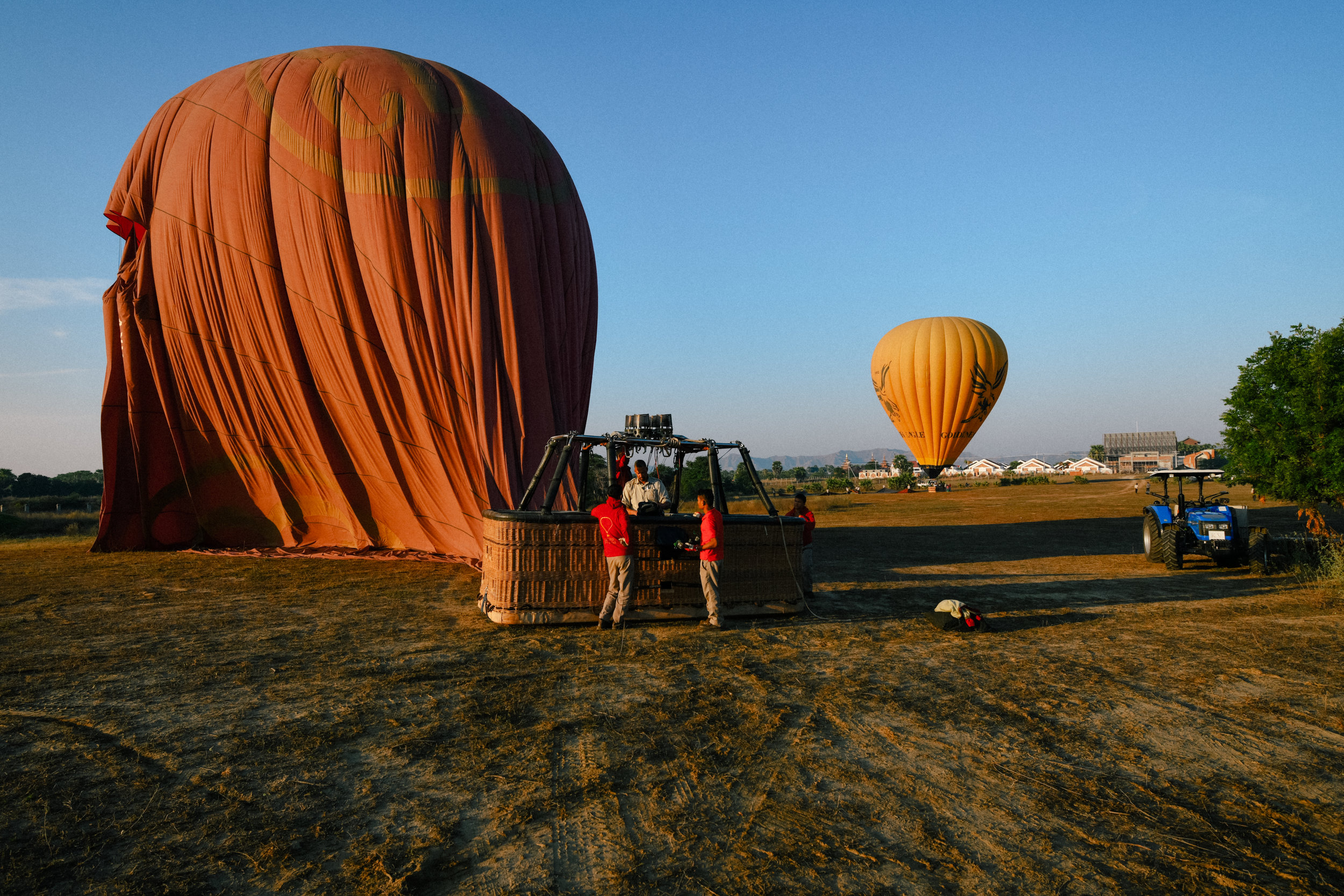 Balloons have landed