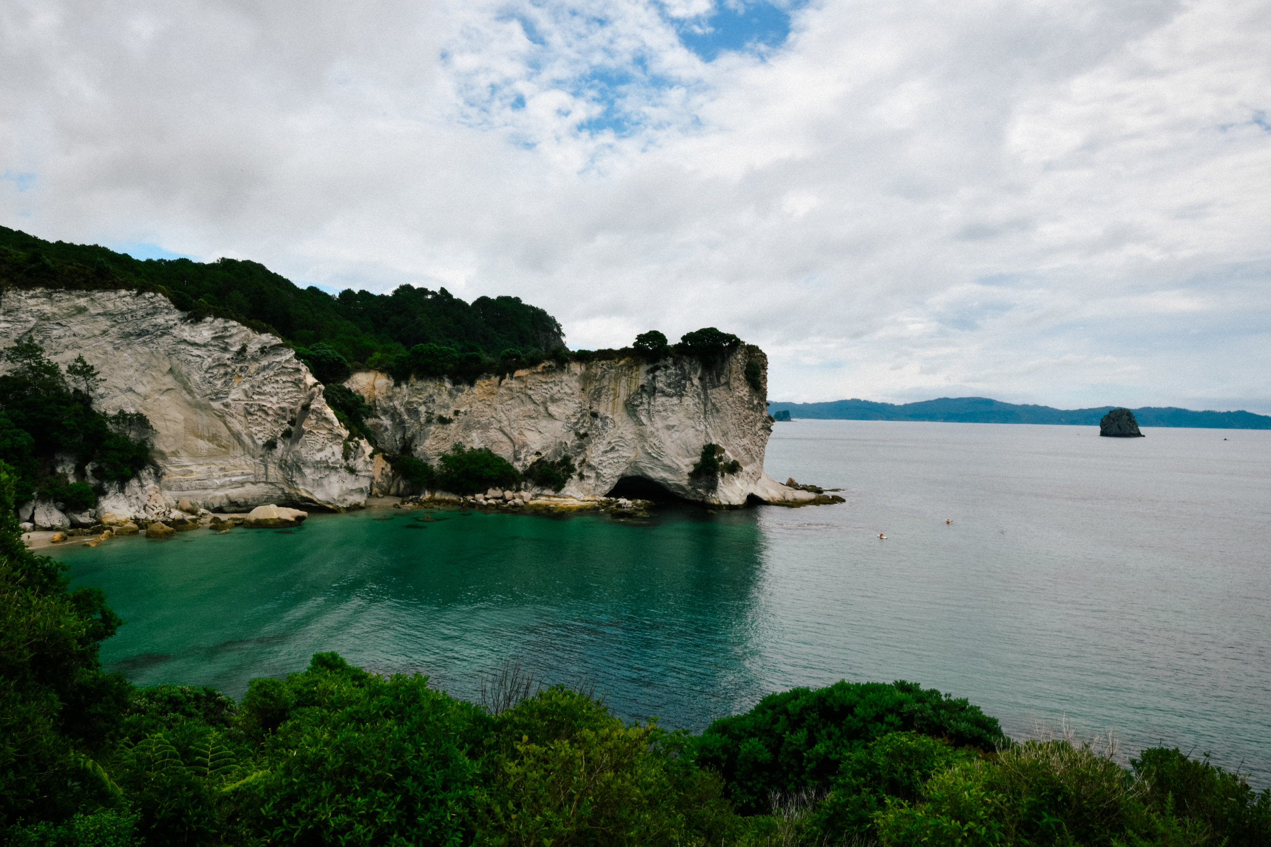 Beautiful cliffs in Coromandel