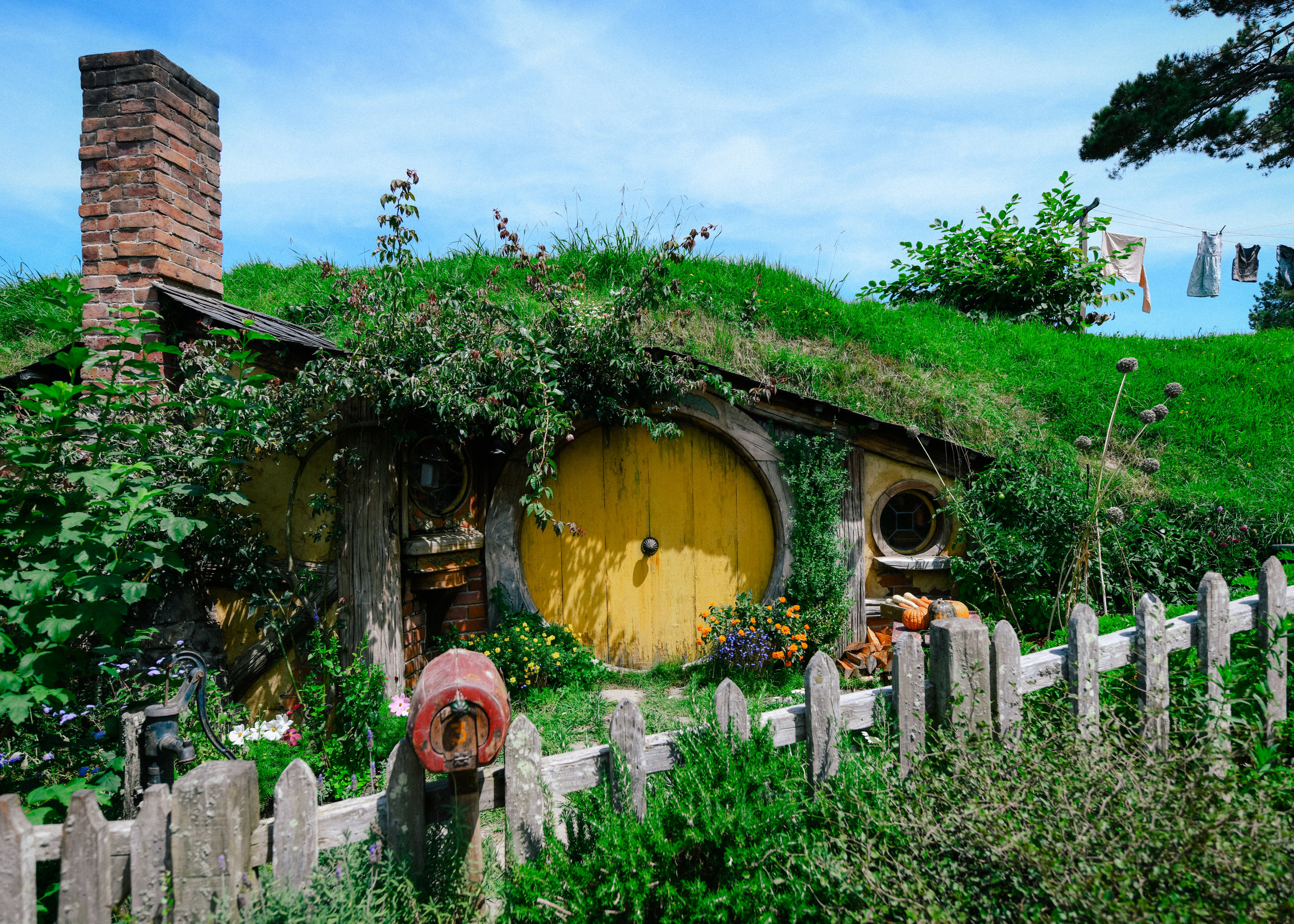 Sam's door in Hobbiton