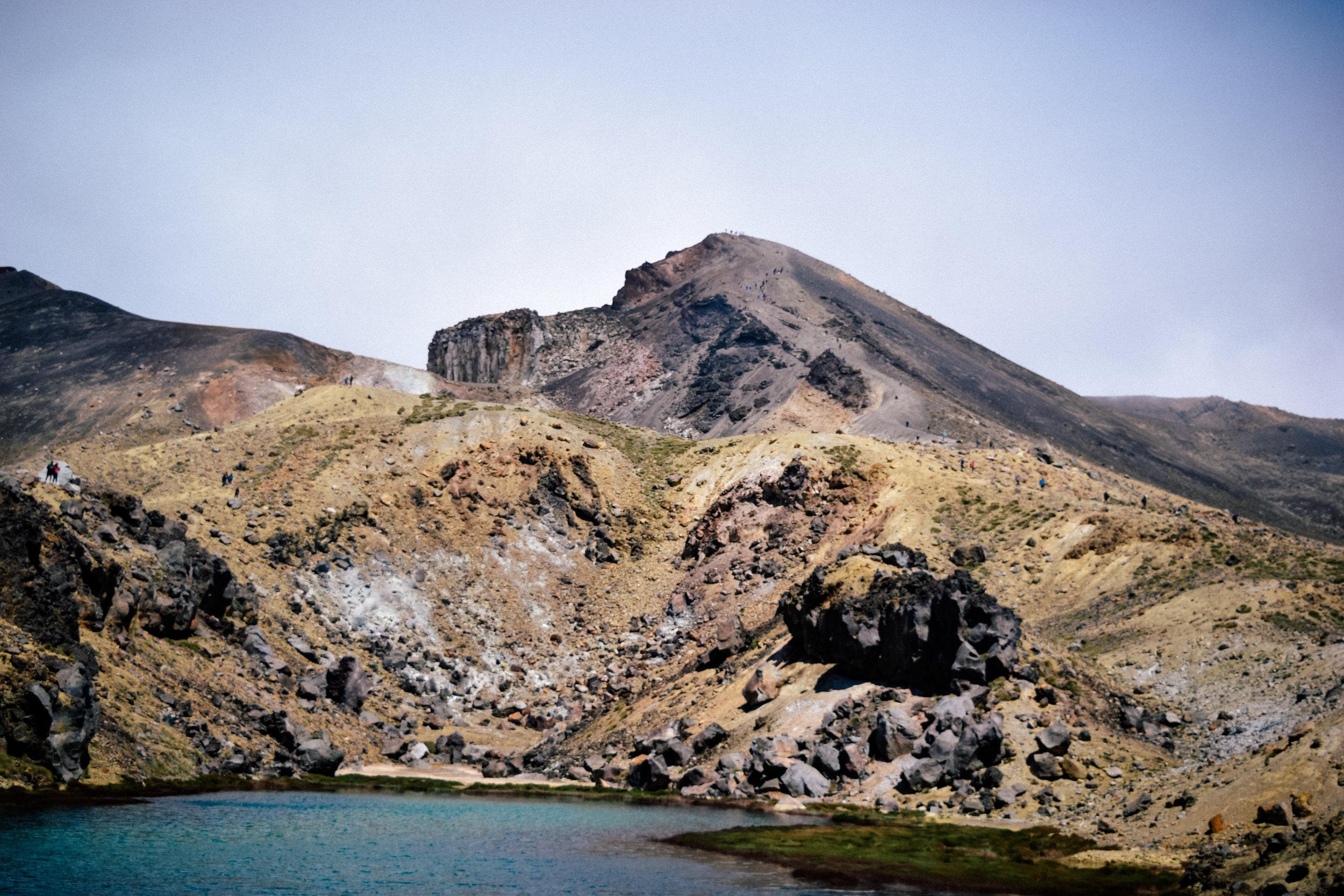 Hill in Tongariro