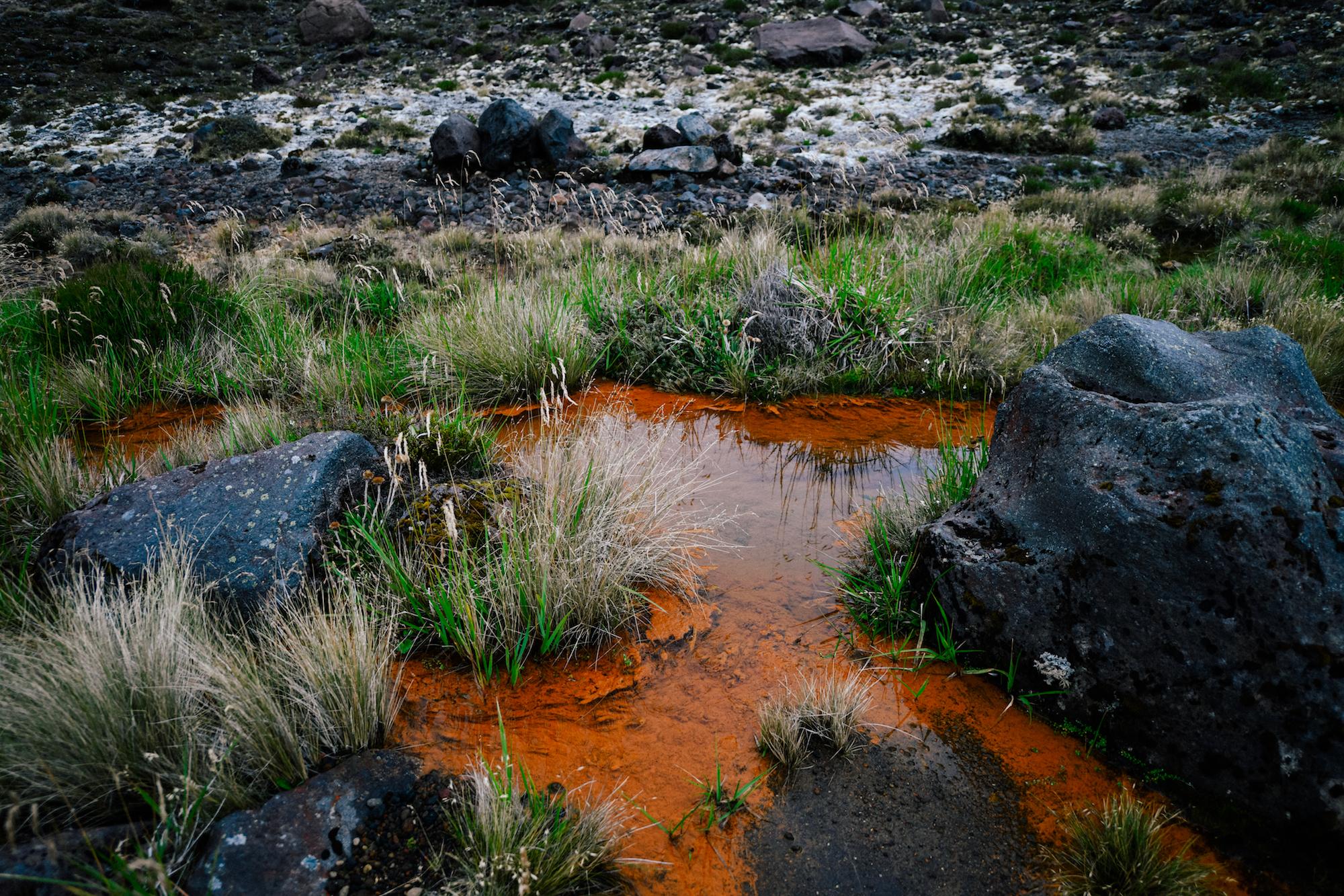 Red river in Mordor