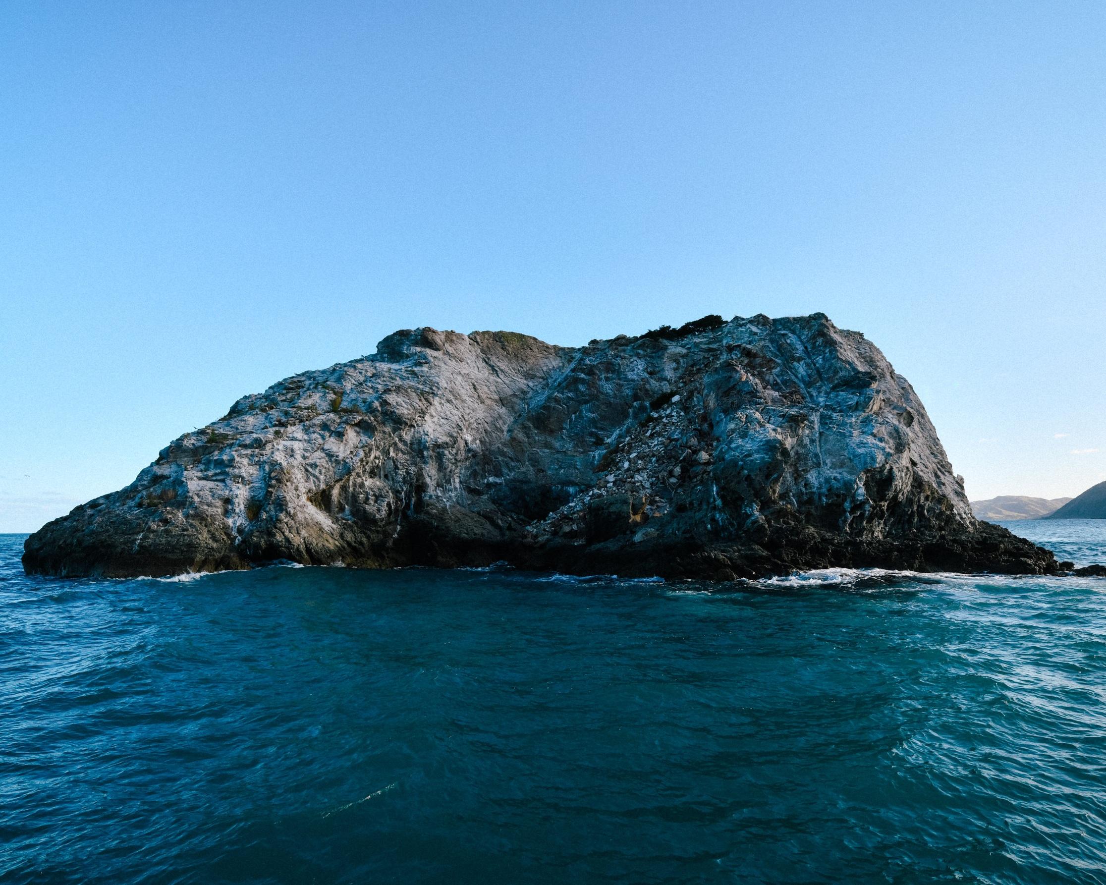Kaikoura cliff