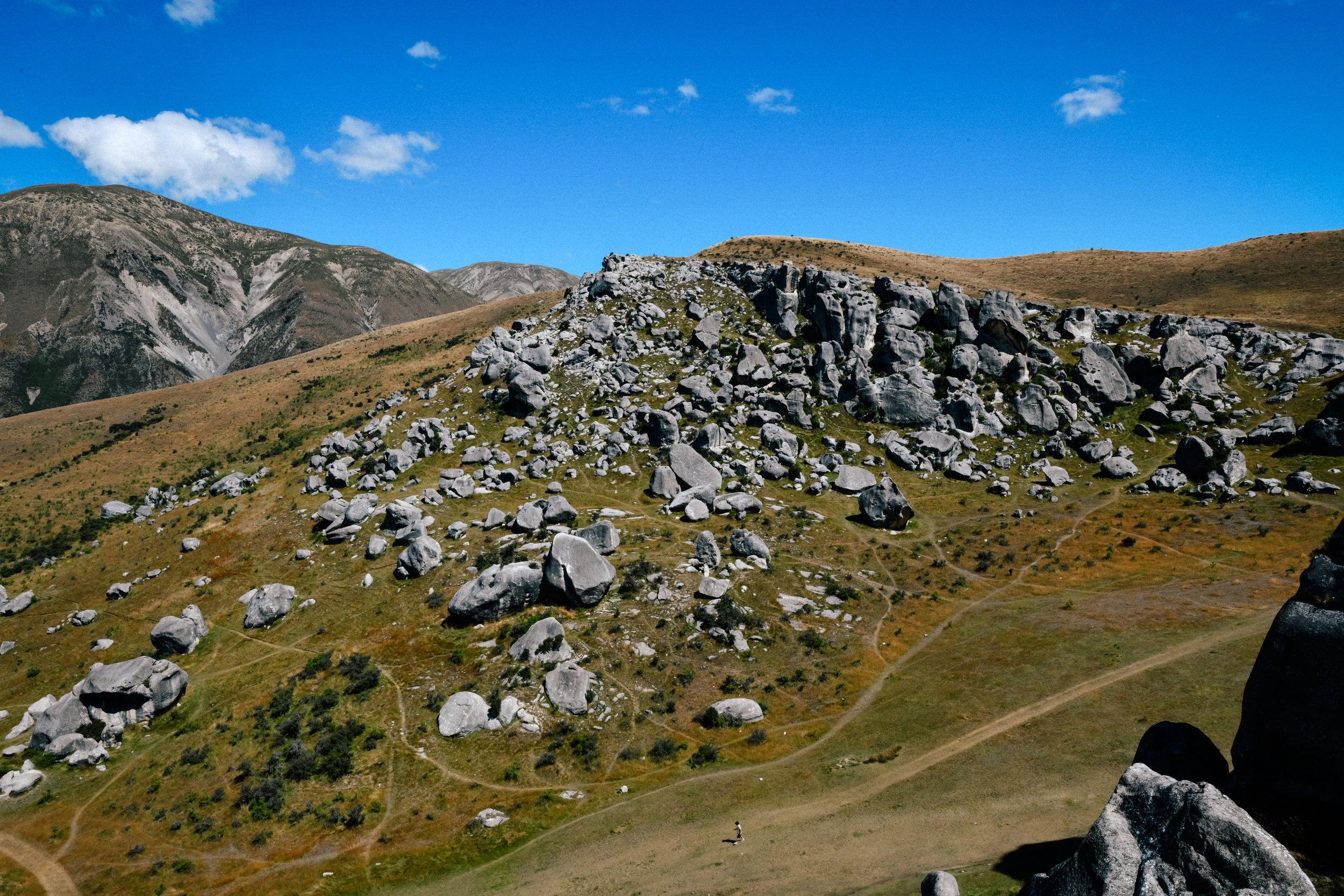 small rocks in castle hill