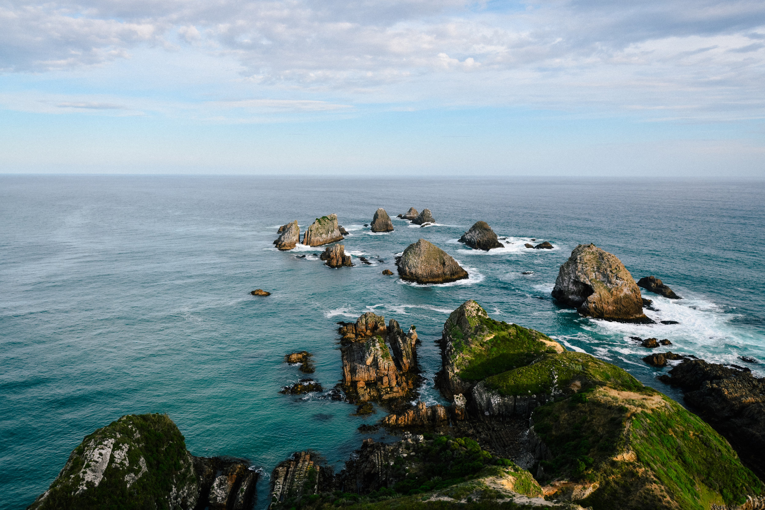 Nuggets at nugget point